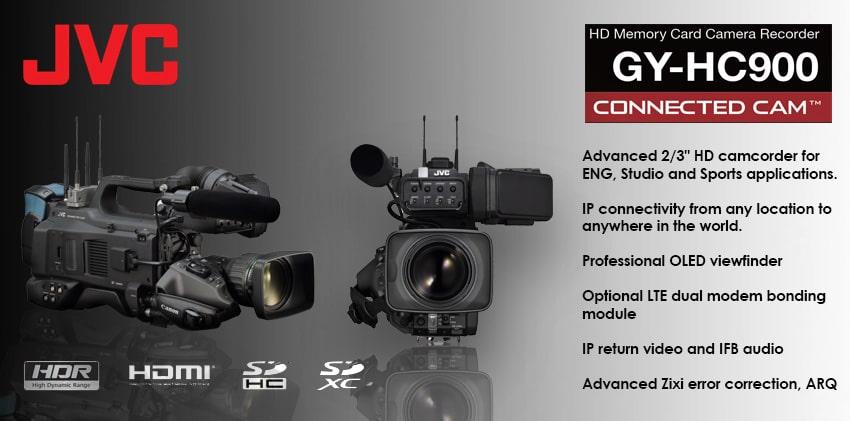 JVC GY-HC900 Streamport Media