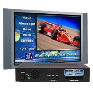 Closed Caption & Video Alert Systems