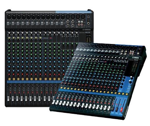 Analog Recording Mixers