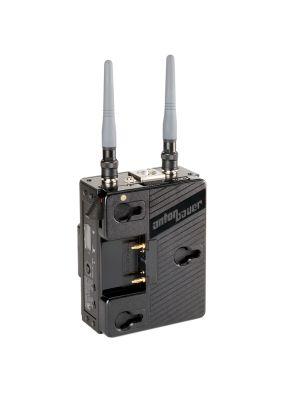 Broadcast series wireless receiver for Canon/JVC/Panasonic Anton Bouer type battery