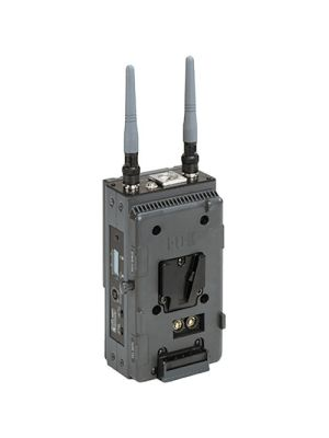 Broadcast series wireless receiver for Canom/JVC/Sony V type battery adapter