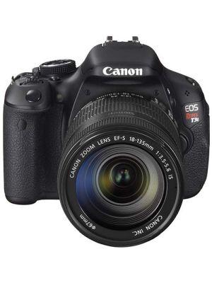 EOS 600D/Rebel T3i DSLR Camera with EF-S 18-135mm IS Lens