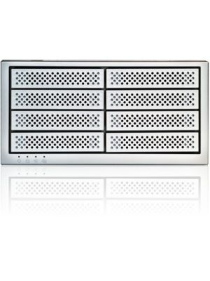 ExaSAN B08S3-PS, specially configured with 8 SSD drives, delivers over 1600MB/s speeds