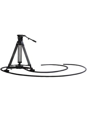 VZ-CINETRACMASTER Complete Dolly Kit with Fluid Head Tripod