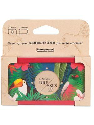 La Sardina Dress Birds of Paradise Camera Covering