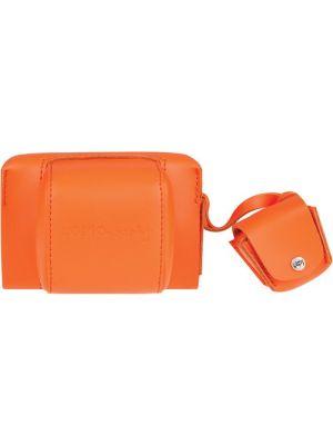 Fisheye Leather Case (Vibrant Orange)