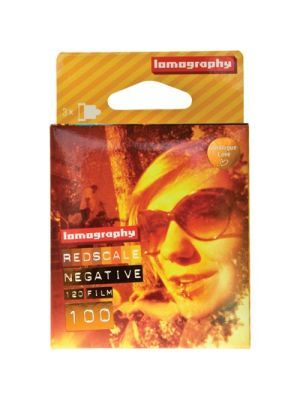 120 Redscale XR ISO 100 Color Negative Film