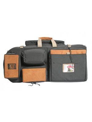HK-1/DC Director's Cut Hiker Backpack Camera Case (Black w/ Suede Accents)