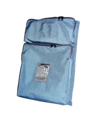 BK-P2M Front Two Pocket Module - for Porta Brace Local or Extreme Backpacks (Blue)