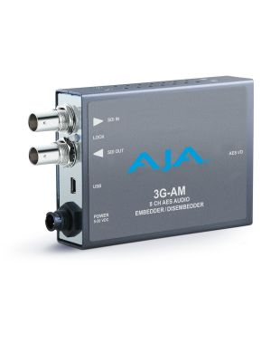 AJA 3G-AM 3G-SDI 8-Channel AES Embedder/Disembedder