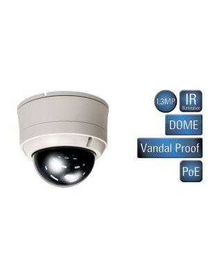 VS-551-IR 1.3MP Varifocal Vandal Proof Dome with IR Illumination