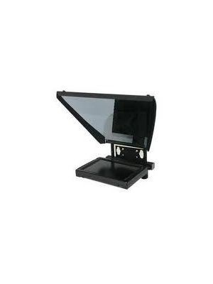8inch Professional Series Prompter Mounted on Handheld ENG Camera