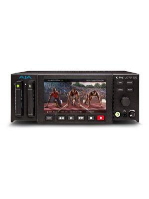 AJA Ki Pro Ultra 12G 12G-SDI 4K/UHD/HD Recorder and Player Multi-Channel HD Recorder