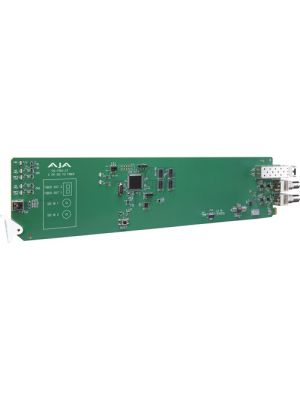 AJA 2-Channel 3G-SDI To Multi-Mode LC Fiber Transmitter With Dashboard Support
