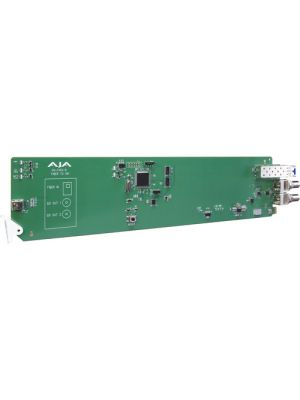 AJA 1-Channel Single Mode LC Fiber To 3G-SDI Receiver With Dashboard Support