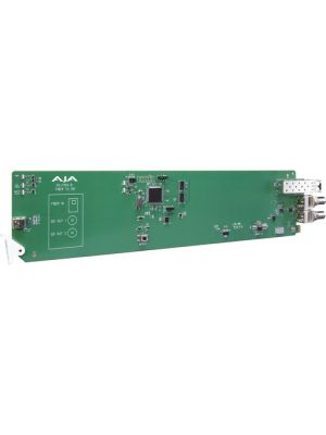 AJA 1-Channel Multi-Mode LC Fiber To 3G-SDI Receiver With Dashboard Support