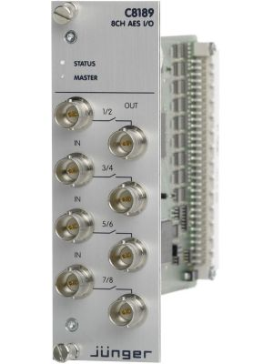 AES/EBU I/O (BNC)
