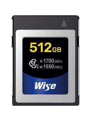 Wise Advanced 512GB CFX-B Series CFexpress Memory Card