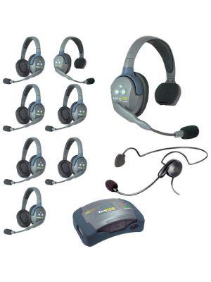 Eartec HUB926CYB UltraLITE 9-Person HUB Intercom System with Cyber Headset