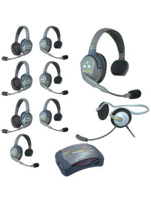 Eartec HUB953MON UltraLITE 9-Person HUB Intercom System with Monarch Headset