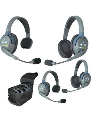 Eartec UL422 UltraLITE 4-Person Headset System