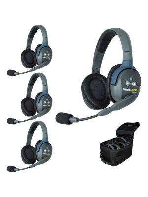 Eartec UL4D UltraLITE 4-Person Headset System