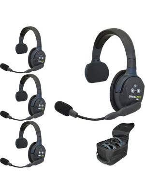 Eartec UL4S UltraLITE 4-Person Headset System