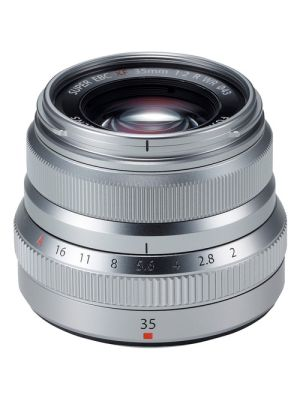 FUJINON LENS XF35mm Lens F2.0 R WR (Silver)