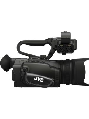 JVC GY-HM250ESB Compact live streaming 4K camcorder with SDI and broadcast/sports graphics