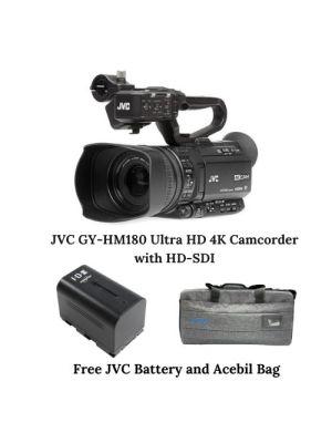 JVC GY-HM180 Ultra HD 4K Camcorder with HD-SDI