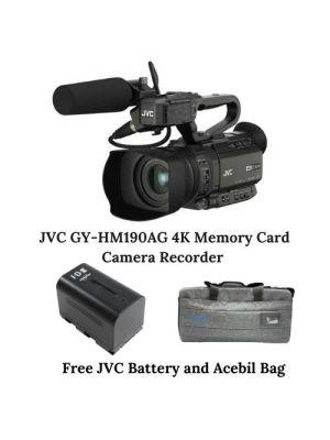 JVC GY-HM190AG 4K Memory Card Camera Recorder