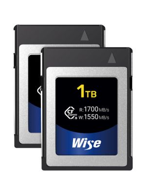 Wise Advanced 1TB CFX-B Series CFexpress Memory Card (2-Pack)