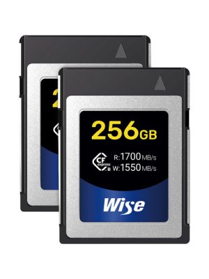 Wise Advanced 256GB CFX-B Series CFexpress Memory Card (2-Pack)