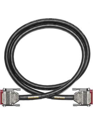 Mogami Gold AES TD DB-25 to 4 XLR Male & 4 XLR Female Digital Breakout Cable (35')