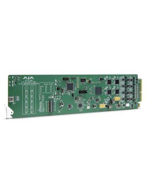 AJA openGear 8-Channel 3G-SDI Analog Audio Embedder/Disembedder with DashBoard Support