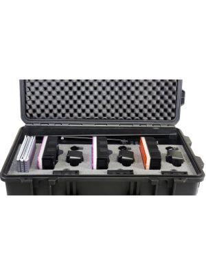 Datavideo PLK-300 3 x Modular Dual Colour LED Light Reporter Kit