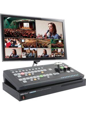 Datavideo SEB-1200 6 Input Switcher SE-1200MU and RMC-260 Controller Bundle