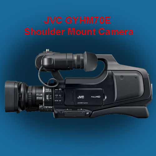 JVC launched new  shoulder mounted events camera GY-HM70E