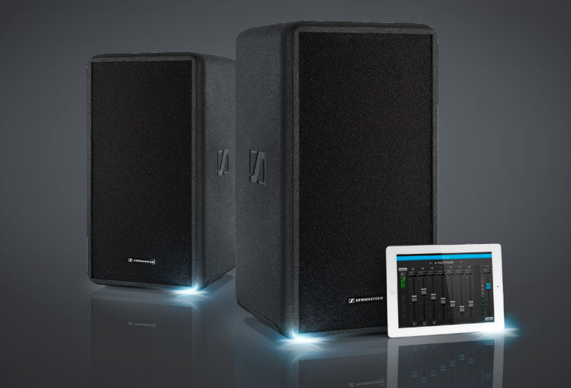 Fast, simple, sound: the LSP 500 PRO PA system from Sennheiser