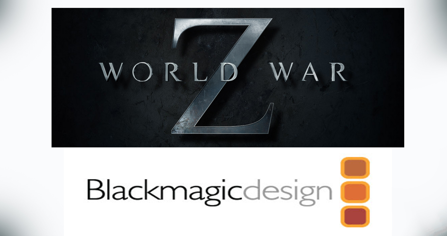 "Video Hawks Uses Blackmagic Design for ""World War Z"" Video Assist Carts"
