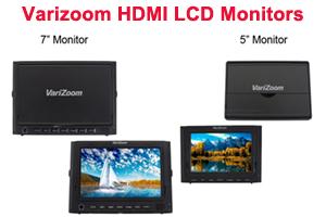 "New 5"" and 7"" HDMI LCD Monitors from Varizoom"