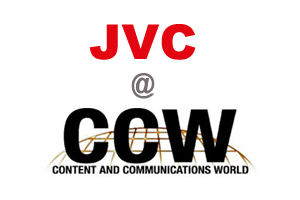 JVC Professional HD Camcorder at Content and Communications World Expo (CCW)