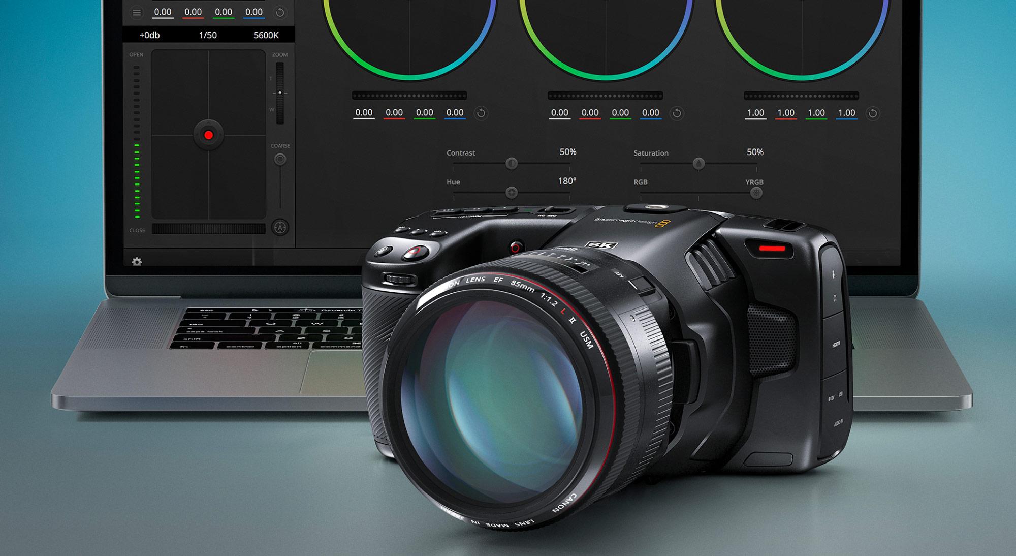 Blackmagic Design Announces New Low Price for Pocket Cinema Camera 6K