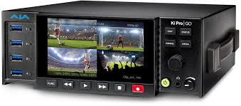 AJA Introduces Ki Pro GO Multi-Channel H.264 Recorder/Player