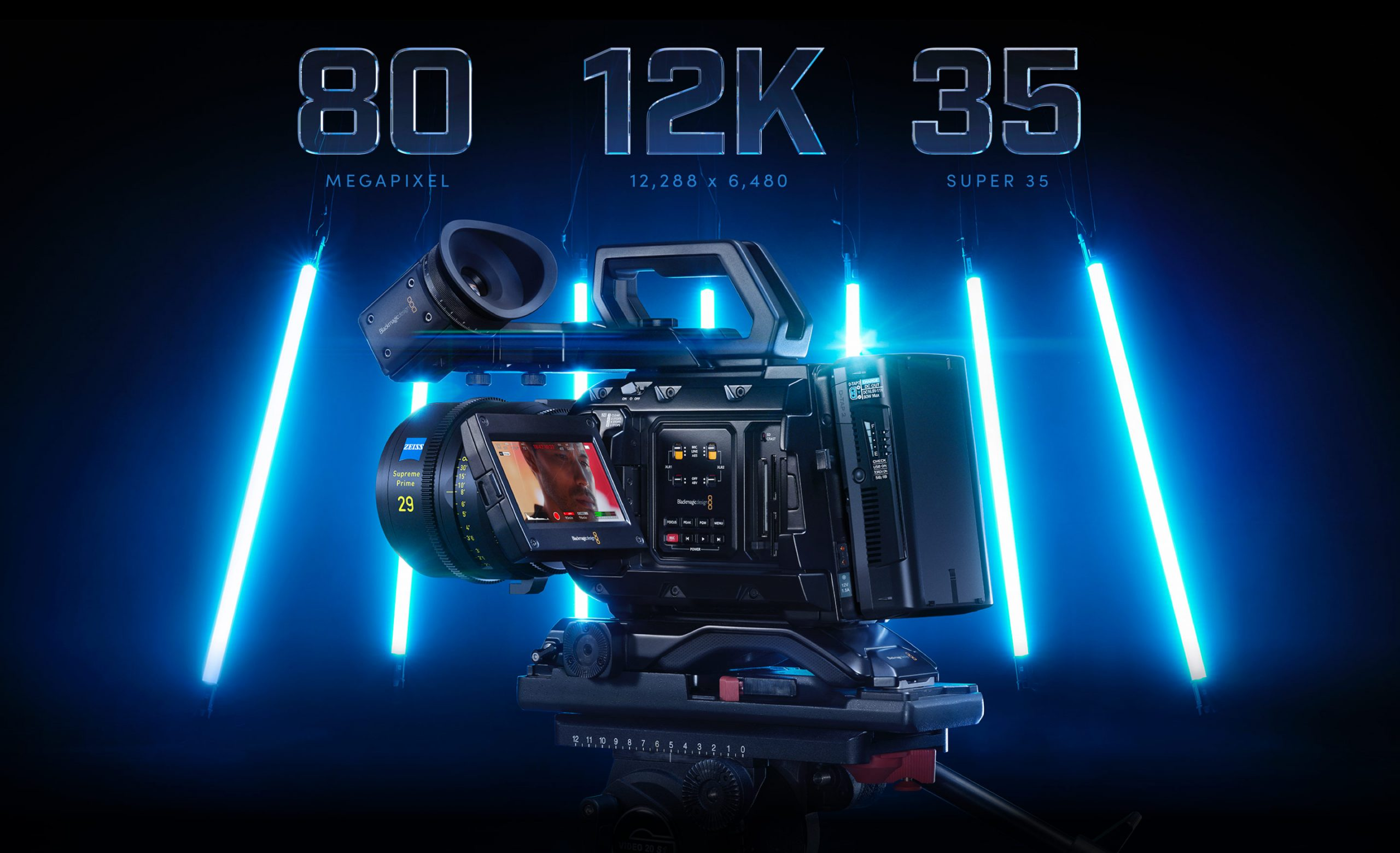 Blackmagic URSA Mini PRO 12K is now available. Brought to you by StreamPort Media in Dubai UAE United Arab Emirates.