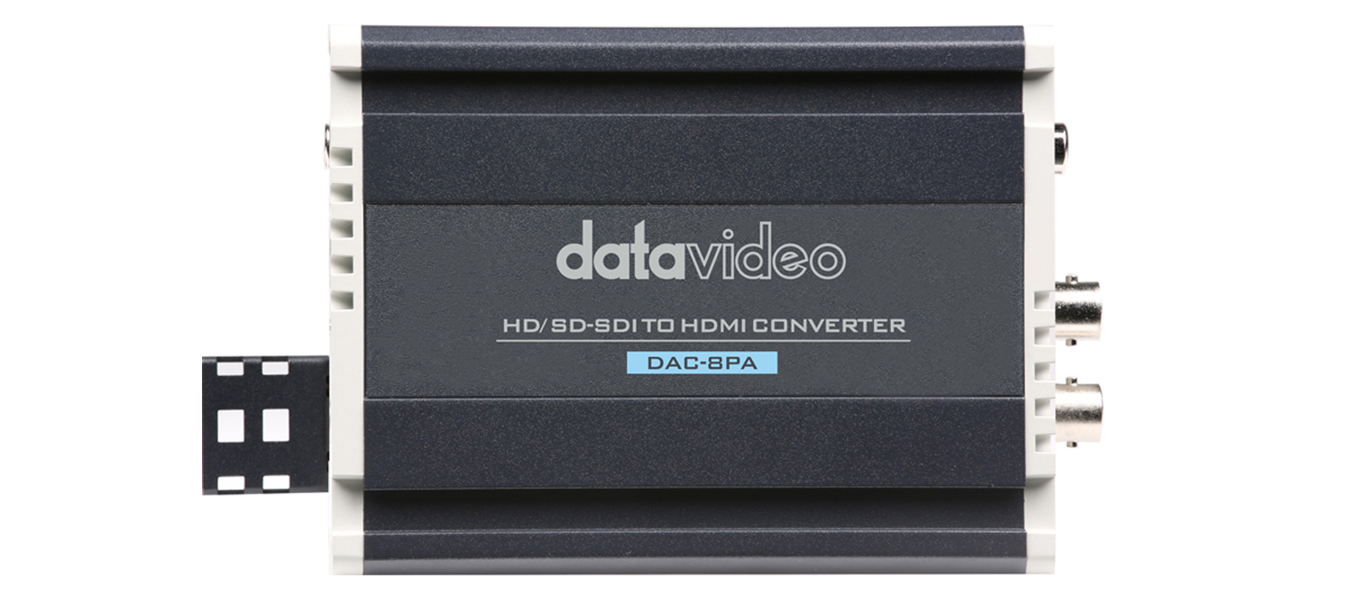 Datavideo's Best-Selling SDI to HDMI Converter is Now Shipping. Buy at StreamPort Media in Dubai UAE United Arab Emirates