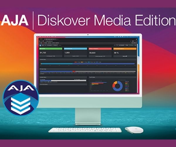 AJA announces Equity Stake in Diskover Data