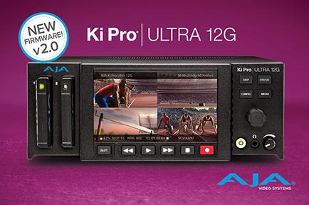 AJA Releases Ki Pro Ultra 12G v2.0