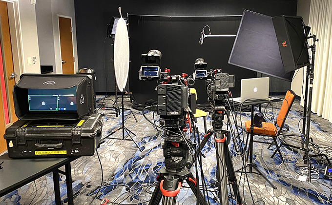 AJA U-TAP Deployed For Remote Interview Production