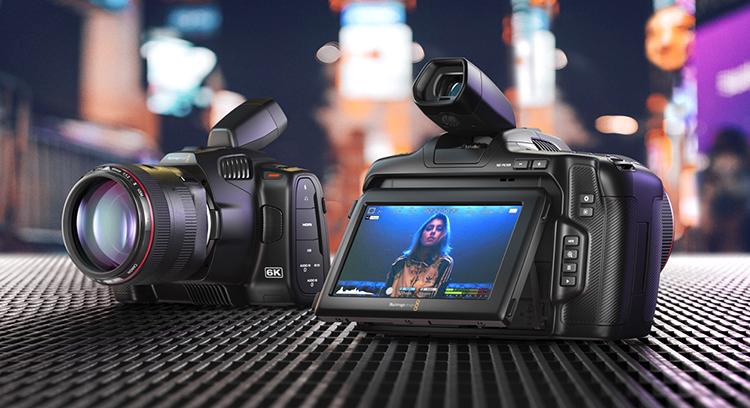 Blackmagic Intros New Pocket Cinema Camera 6K Pro
